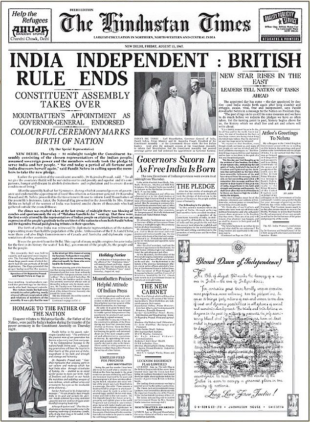 How Attlee beat Churchill to fulfil the promise of self-rule in India