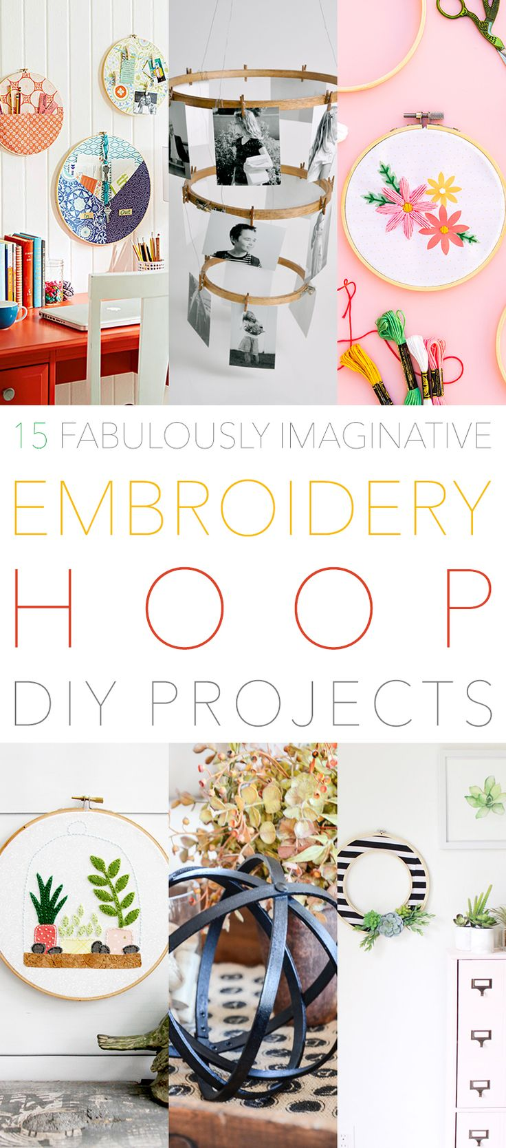 The simple Embroidery Hoop has a secret life…a life where it becomes something Special and Fresh! So we put together a new collection of 15 Fabulously Imaginative Embroidery Hoop DIY Projects. From Farmhouse Orbs to Pendant Lights…to Wall Art and more. You are going to love this incredible array of Creations. You are going to …