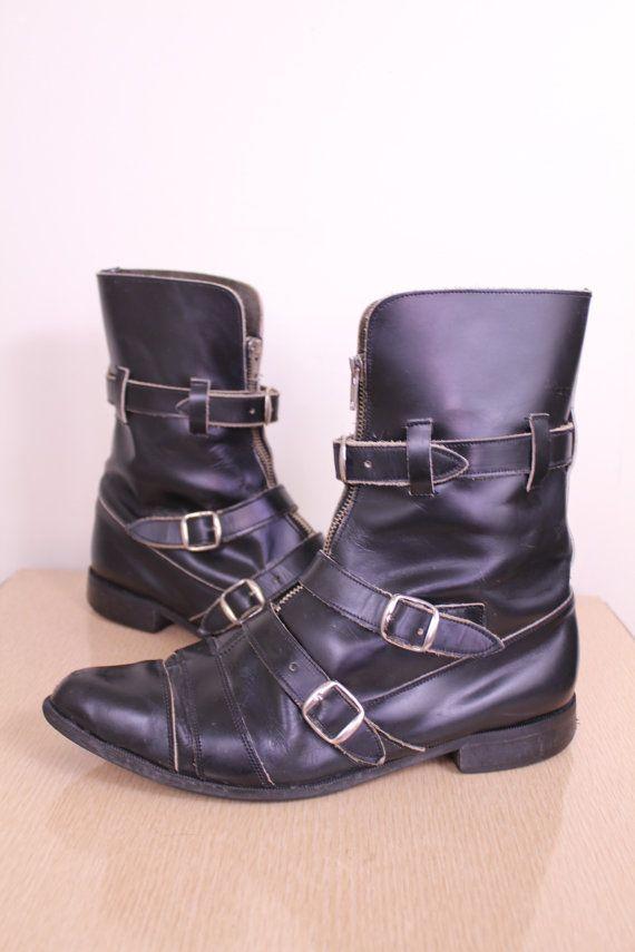 Vintage  S Punk Goth Shoes
