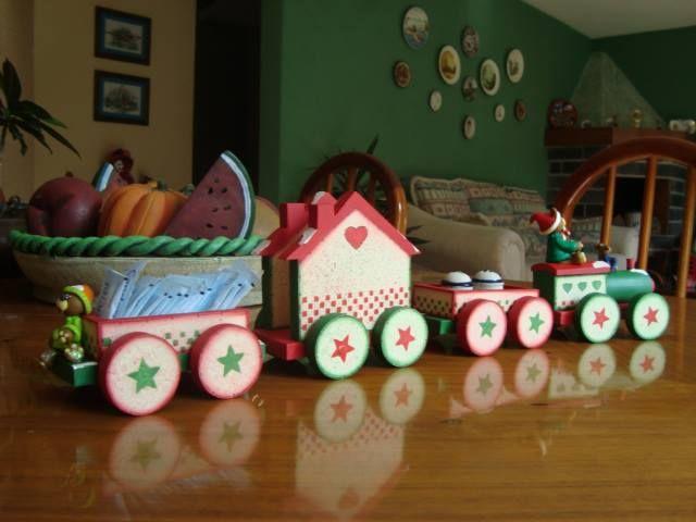 Tren completo ideal para adornar tu hogar en una comida for Adornos para tu casa