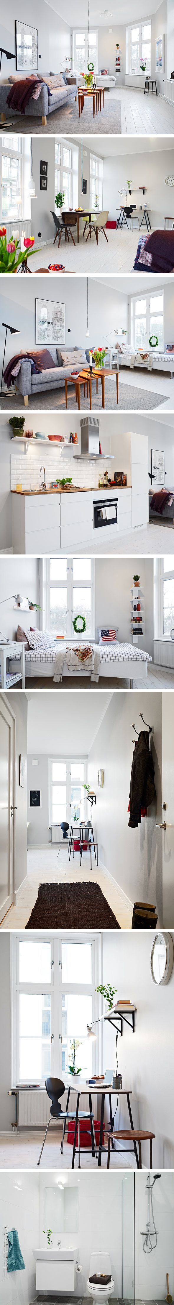 Small swedish apartment