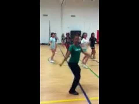 Basic cheer dance routine