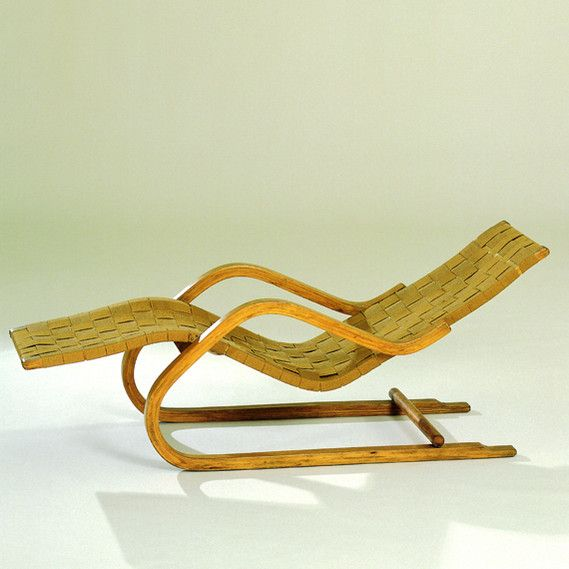 68 best design history images on pinterest chair design for Alvar aalto chaise longue
