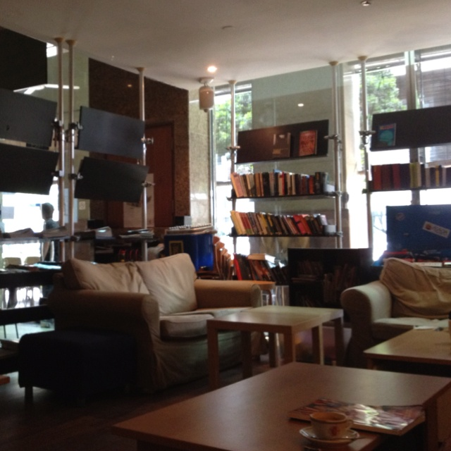 The Book Cafe Martin Road Singapore