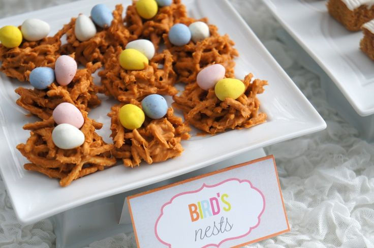 Easy Easter Treats - Haystack Birds Nests