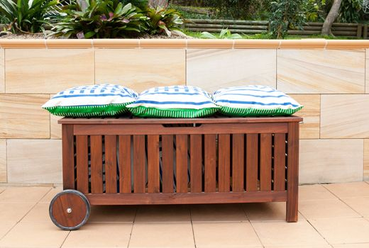 keter patio storage bench instructions