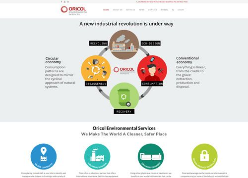 New redesign in Joomla with Graphics and Animation