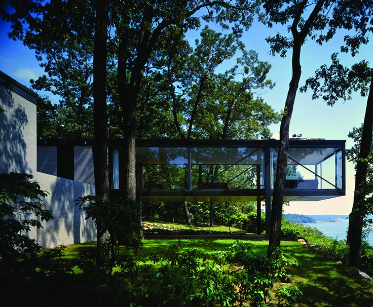 """""""There are hundreds of them, many of them masterpieces.""""    That's Caroline Rob Zaleski on the modernist residences and public buildings she discovered on Long Island built between 1930 and 1980 by modernists like Breuer, Le Corbusier, Wallace, Wright, Sert, Stone, Mies, Neutra, Rudolph, Johnson, Meier and Pei."""