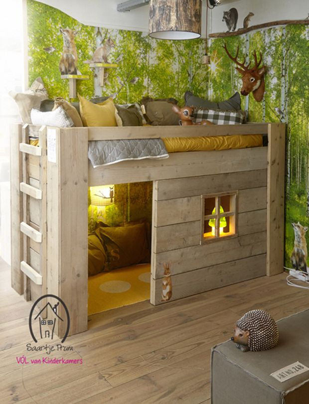 I'm so enamored of these beautiful children's beds from ...