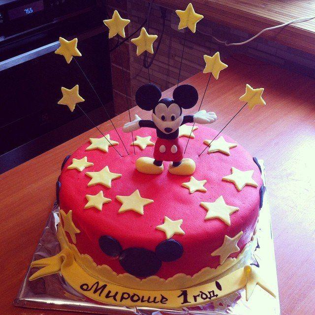 Микки Маус #торт_на_заказ_днепропетровск #мульт_герои #бисквитный_торт #шоколадный_торт #комбинированный_торт