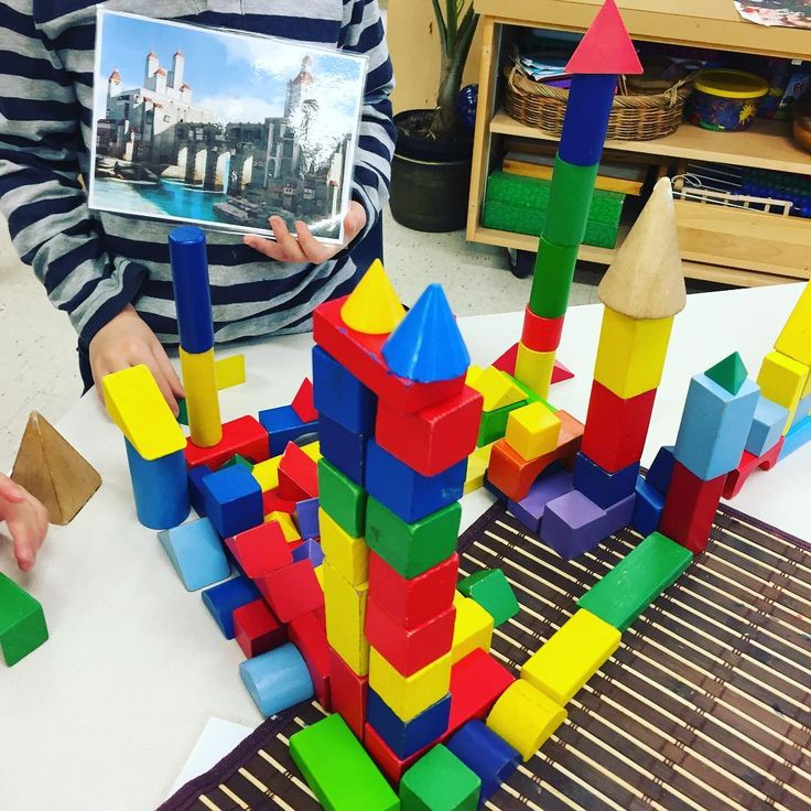 "57 Likes, 3 Comments - Laura King (@kindergartenteachertired) on Instagram: ""Building block castles with photo inspiration! See last post for more detail / learning invitation…"""
