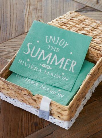 Enjoy the Summer Paper Napkin