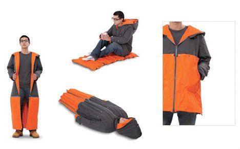 Carry your house on your back with Steven M. Johnson's Parka Place : TreeHugger