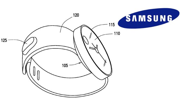 Samsung plans for a circular display smartwatch as revealed by US Patent Application