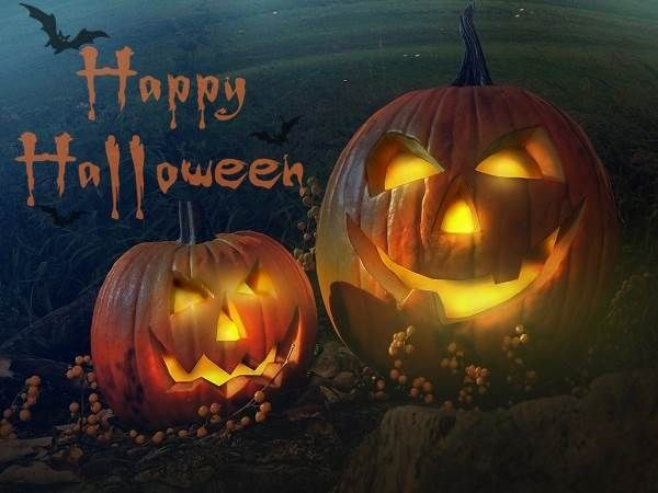 Good Smiley Pumpkins Happy Halloween 2014 HD Wallpapers