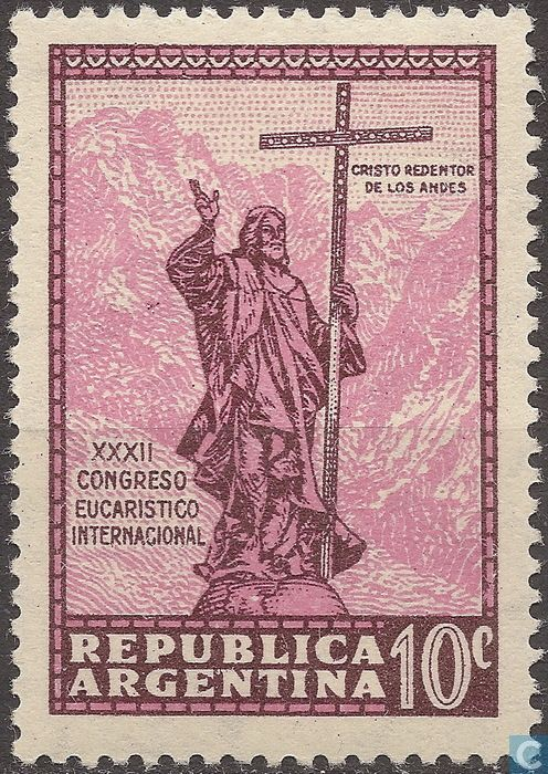 Argentina [ARG] - Christ of the Andes 1934