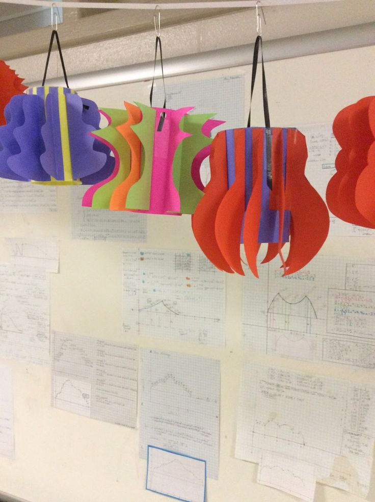 Math Teacher Mambo: Calculus Final Project - Solids of Revolution Lanterns