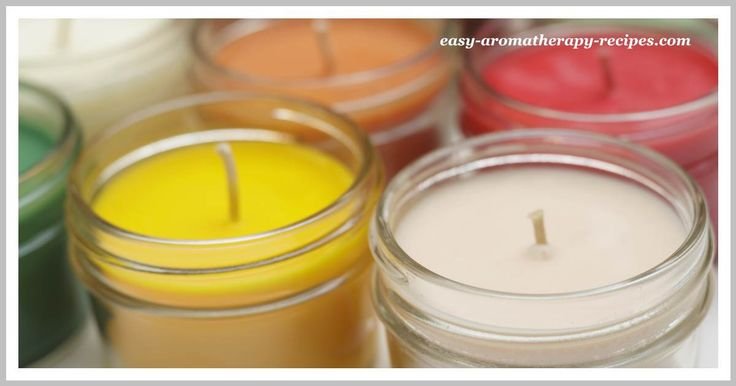 Simple step-by-step soy candle making instructions for scented soy container candles. Eco-friendly, aromatic and non-toxic!