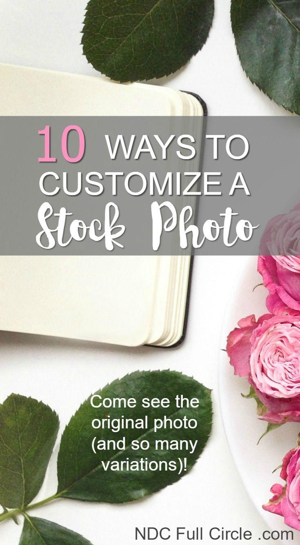 Fresh Ways to Customize a Boring Stock Photo