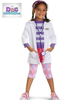 Toddler Doc McStuffins Costumes   Cheap Disney Halloween Costume for Toddler