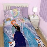 Disney Frozen Reversible Single Quilt Cover - Elsa, Anna and Olaf | Kids Character Clothing, Bedding and Accessories | Cooldudes Kids Australia
