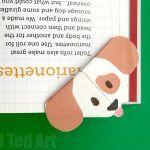 Emoji Dog Corner Bookmark