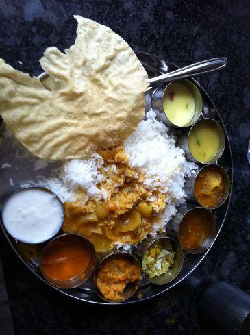 south Indian Thalis