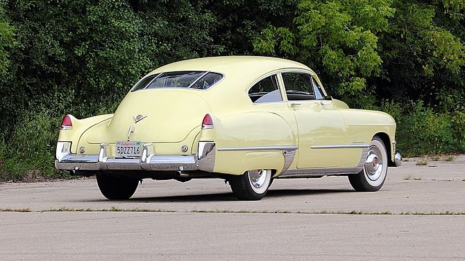 1949 Cadillac Series 62 Club Coupe American Autos 1949