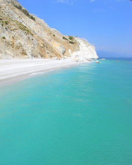 Lalaria beach, Greece.