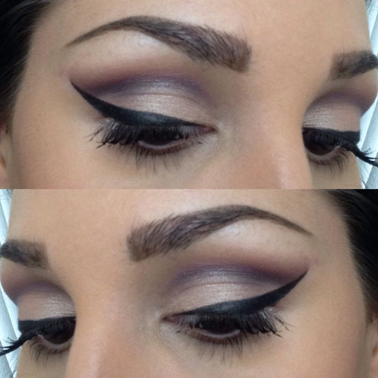 Cut crease : makeup looks : Pinterest : Cut crease