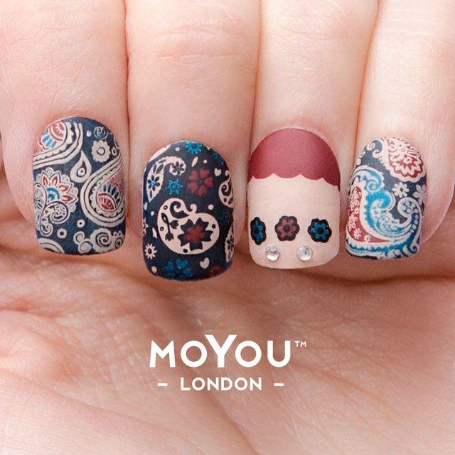 flower power nail art mani 15