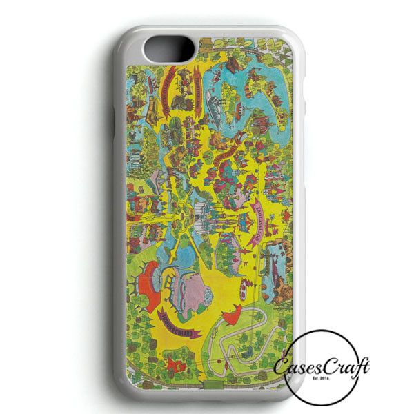 Vintage Walt Disney World Map Fantasyland 1971 iPhone 6/6S Case | casescraft