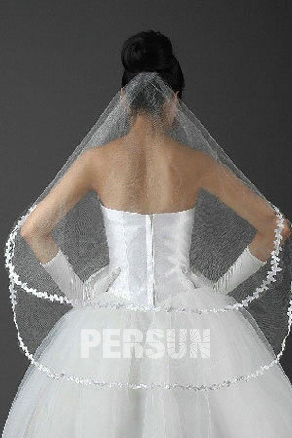 #Due #Strati #Veli Da #Sposa con #Merletto - Persunit.com