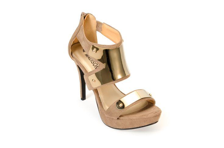MINNEAPOLIS Taupe R499.00 from www.madisonheartofnewyork.com follow us on Twitter @Madison Shoes SA