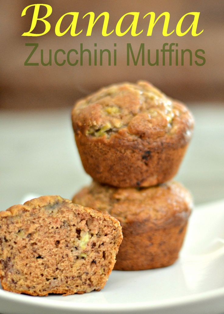 100+ Zucchini muffin recipes on Pinterest | Healthy ...
