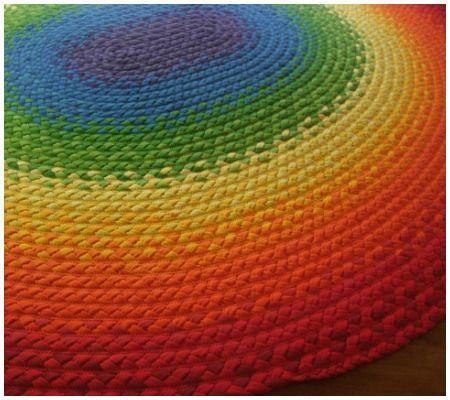 12 Sweet Handmade Rugs for the Nursery or Playroom   Disney Baby