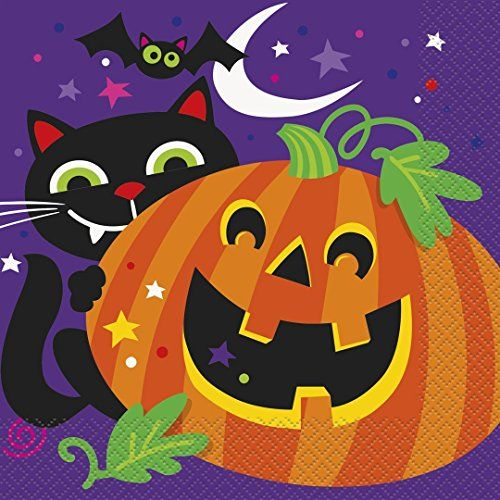 Happy Halloween Party Napkins 16ct * Want to know more, click on the image.