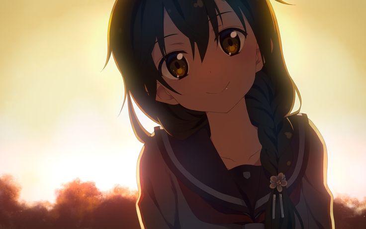 Cool Anime Girl.