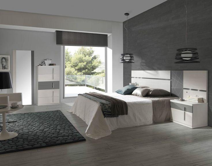 Dormitorio moderno (244 – D1) - Muebles CASANOVA