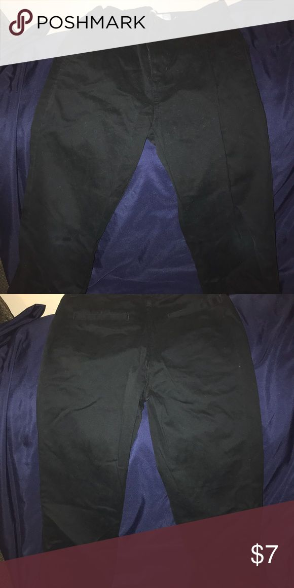 Boys black khaki pants Black Khaki pants for boys in good condition worn once Old Navy Bottoms Casual