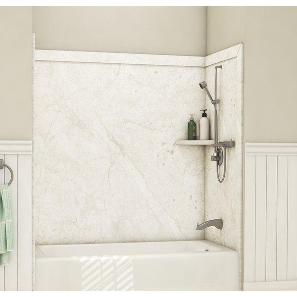 Elite Tub Surround 60 H X 60 W X 32 D Shower Wall Tub Surround Shower Wall Shower Wall Kits