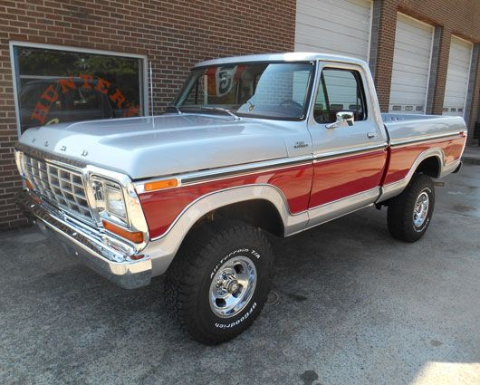 1979 Ford  F-150 Ranger 4X4 Pickup