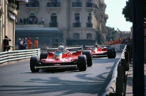 Jody Scheckter & Gilles Villeneuve