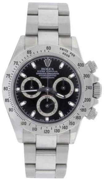 Rolex Daytona 116520 Stainless Steel 40mm Mens Watch. Rolex mens watches for professionals are authentic rolex, either they prefer black rolex or gold rolex watch.