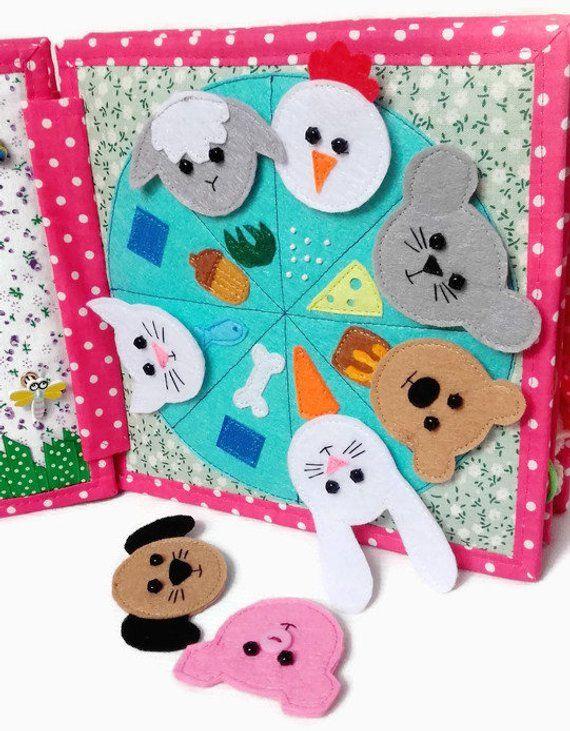 Ruhiges Buch Busy Buch Montessori ruhiges Buch ruh…