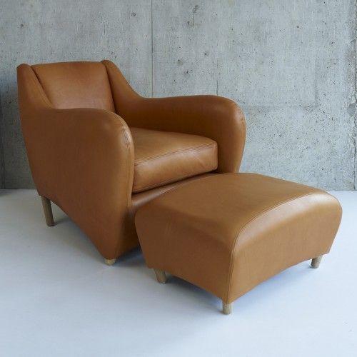 Balzac Lounge Chair and Ottoman