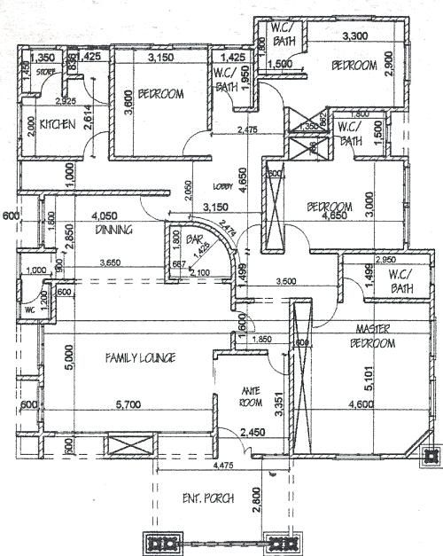 5 Bedroom Bungalow Plans In Nigeria Stylish 5 Bedroom Bungalow House Plan In Homes Zone H In 2020 Bungalow House Plans Bungalow Floor Plans Modern Bungalow House Plans