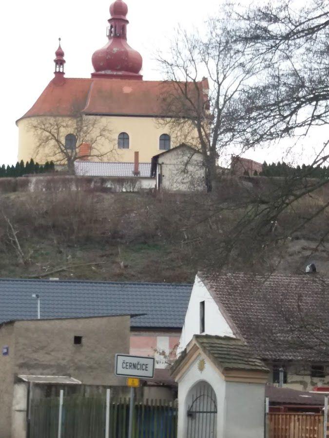 Černčice -kostel sv.Vavřince