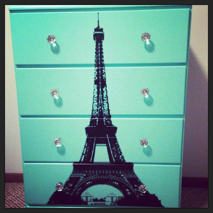 Transformed a very old dresser into an accent piece for my ...