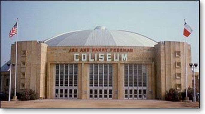 JOE AND HARRY FREEMAN COLISEUM. WENT TO LOTS OF RODEOS THERE.